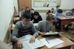 студенты строительного отделения начальный этап олоимпиады